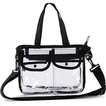 Amazon.com: Bolsas de cosméticos de EVA transparentes, de ...