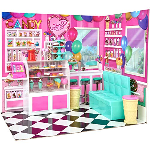 myLife Brand Products My Life As JoJo Siwa Doll Candy Shop Play Set, Vibrantly Colored]()