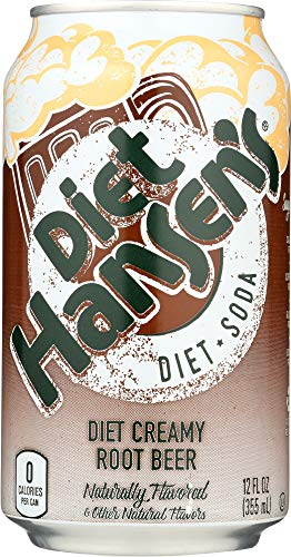 Hansen Soda Creamy Beer Diet, 72 oz