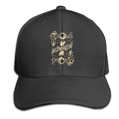 Karoda Jack Of Pumpkin Nightmare Adjustable Baseball Cap/Hat Hip Hop Hat Black