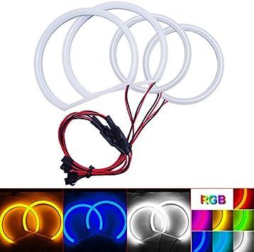 Amazon.com: FEELDO Car Xenon Cotton Angel Eyes Halo Ring Light For Ford  Focus 08+ Headlight DRL Light (White): Automotive