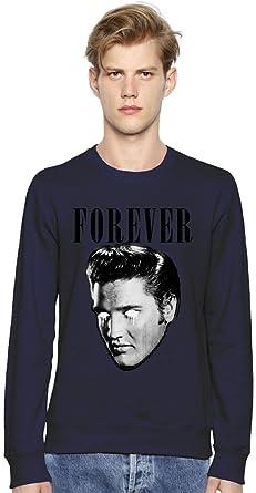 Elvis Presley The King Of Rock N Roll FOREVER Unisex Sweatshirt: Amazon.es: Ropa y accesorios