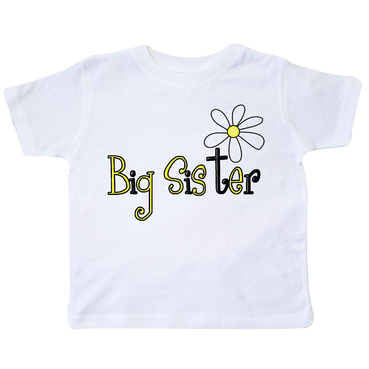 inktastic Sister with Daisy Toddler T-Shirt