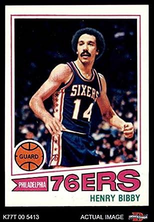 375e595b9 1977 Topps   2 Henry Bibby Philadelphia 76ers (Basketball Card) Dean s  Cards 7 -