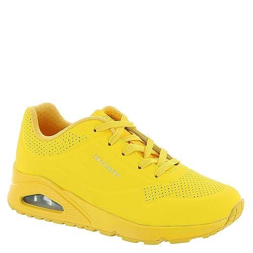 Buy \u003e skechers uno stand on air yellow