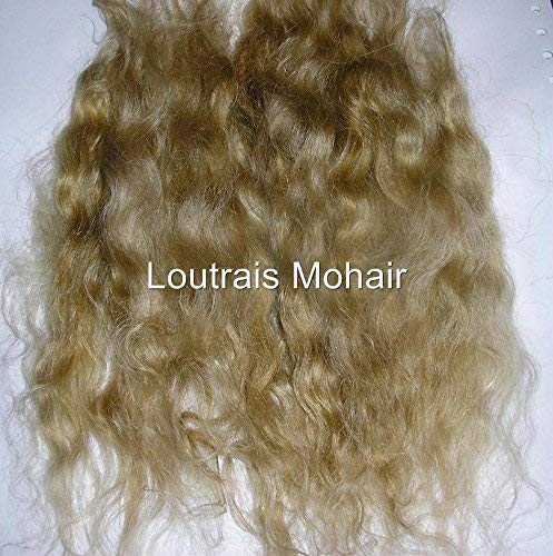 DOLL HAIR REBORN MOHAIR DOLL MAKING - 10 GRAMS BLONDE (HONEY) ()