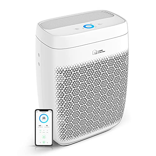 Air Purifier, Zigma Smart WiFi Air Purifier for Large Room up to 1580 ft2, Available for California, True HEPA 5-in-1…