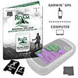 onXmaps ROAM Rockies North: Digital Recreation Map for Garmin GPS - Color Coded Land Ownership - 24k Topo - Roads and Trails - Covers Montana, Idaho, and Wyoming