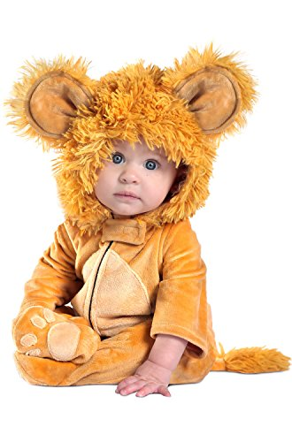 Lion Infant Halloween Costume (Princess Paradise Baby Anne Geddes Leo The Lion Deluxe, As As Shown, 0 to 6)