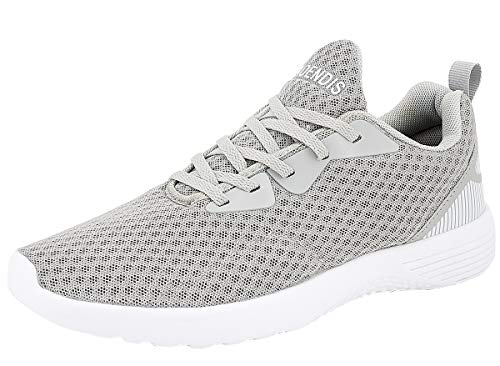 Chaussures De chaussures Respirant Pour Sport Femmes Mesh Running Raoendis Baskets Walking Sneakers Lgres Mesdames Casual Gris EHw1zSA7qc