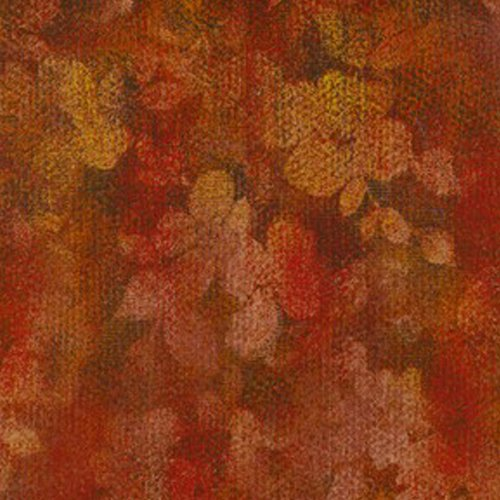 Jinny Fabric Beyer Quilt (Vibrant Red Fall Colors, Ombre, Renaissance Garden, Floral, RJR Fabric, Jinny Beyer, By the Yard)