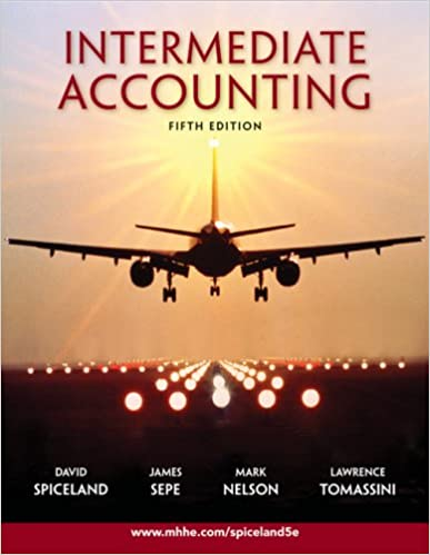 Amazon intermediate accounting fifth edition 9780077282073 amazon intermediate accounting fifth edition 9780077282073 j david spiceland james sepe mark nelson lawrence tomassini books fandeluxe Images