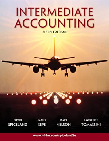 amazon com intermediate accounting fifth edition 9780077282073 rh amazon com Accounting Books Intermediate Accounting Beli