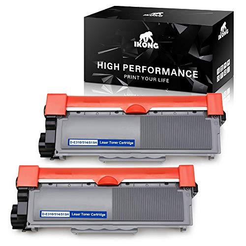 IKONG Compatible Toner Cartridge Replacement for Dell E310dw 593-BBKD (D-E310/514/515H) Works with Dell E310DW, Dell E515DW, Dell E514DW, Dell E515DN Printer