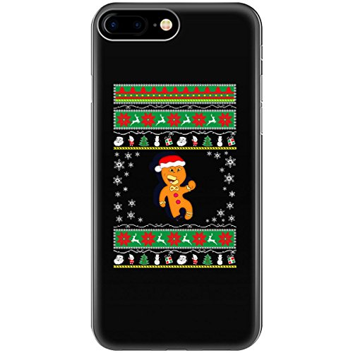 Ugly Xmas Sweater Gift Funny Novelty Gingerbread Man Ttb1 - Phone Case Fits Iphone 6 6s 7 8