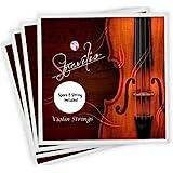Full Set High Quality Violin Strings Size 4/4 & 3/4 Violin Strings, G D A & E