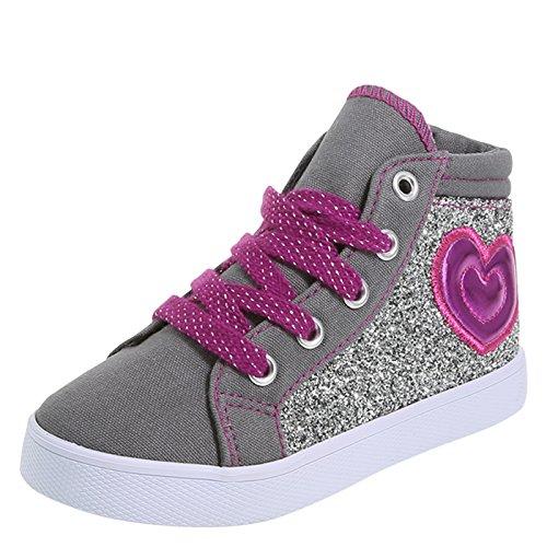 Brash Girls' Toddler Truce High-Top Sneaker