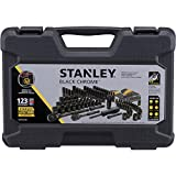 Stanley STMT72254W 123pc Black Chrome Universal Mechanic's Tool Set
