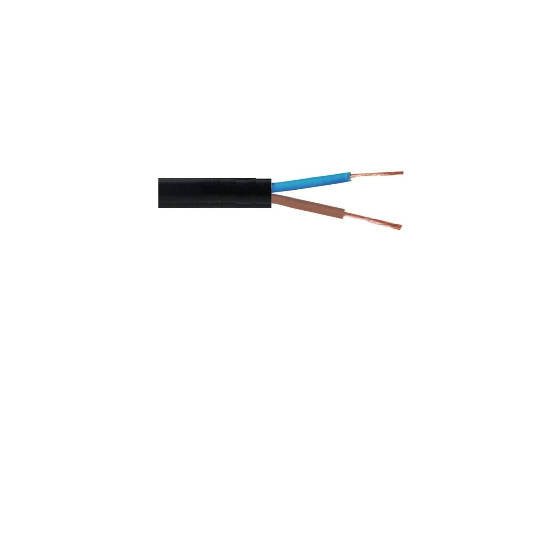3183Y Rouleau complet et longueurs personnalis/ées disponibles Rouleau de c/âble flexible noir 2 ou 3/fils C/âble/: 0,75/mm 1,0/mm et 1,5/mm R/éf/érences 3182Y