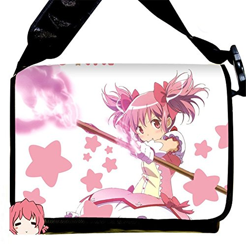 Price comparison product image MiracleL Puella Magi Madoka Magica Anime Cosplay Canvas Backpack Messenger Bag