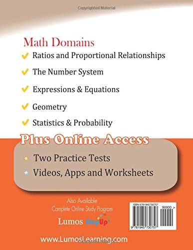 Math Worksheets common core 4th grade math worksheets : Georgia Milestones Assessment System Test Prep: 6th Grade Math ...