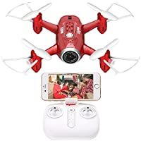 Syma Mini RC Quadcopter Drone X22W HD Wi-Fi Camera Live Video Feed 6-Axis Gyro Quadcopter for Kids & Beginners