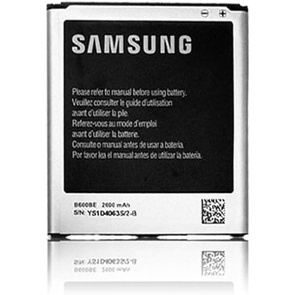 Bateria Original - Bateria Original Samsung EB-B600BEBEG Para Samsung Galaxy S4 i9500 con 2600mAh de Capacidad con Carga Rapida 2.0: Amazon.es: Electrónica