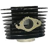 BLACK Cylinder Body 66cc/80cc-40mm Gas Motorized Bicycle gas engine cylinder 2 stroke gas motor cylinder