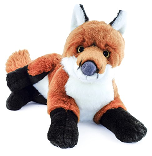 Franny the Fox | 12 Inch (Without Tail!) Stuffed Animal Plush | By Tiger Tale Toys - Giant Fox Tail Costume