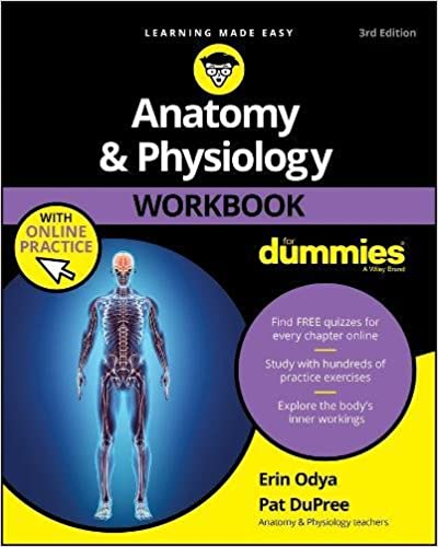 Amazon.com: Anatomy and Physiology Workbook For Dummies, with Online ...