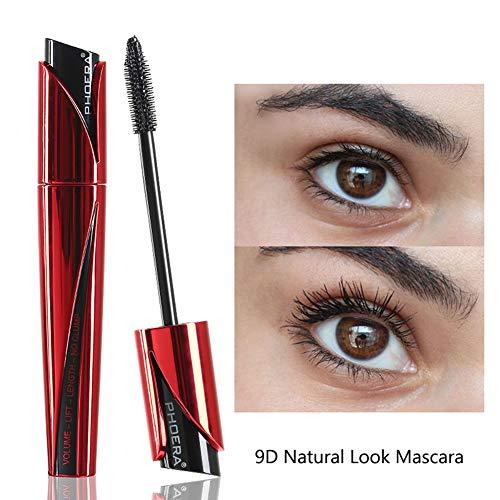 Kekailu 2019 Waterproof Mascara Non-smudge Silk Fiber Long Eyelashes Extension Make Up