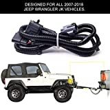 BougeRV Trailer Wiring Harness for 2007-2018 Jeep