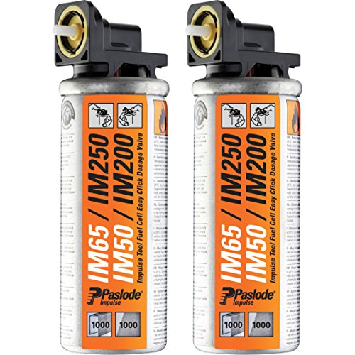 Advanced Paslode Impulse Mini Gas Fuel Cell (Pack of 2) for IM65