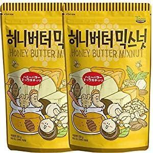 【GILIM】(キリム) ハニーバター ミックスナッツ (220g x 2袋) [並行輸入品]