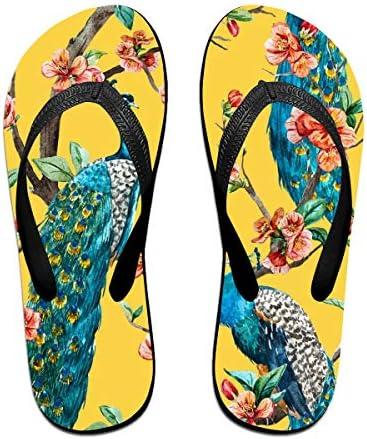 ビーチシューズ 孔雀柄 ビーチサンダル 島ぞうり 夏 サンダル ベランダ 痛くない 滑り止め カジュアル シンプル おしゃれ 柔らかい 軽量 人気 室内履き アウトドア 海 プール リゾート ユニセックス