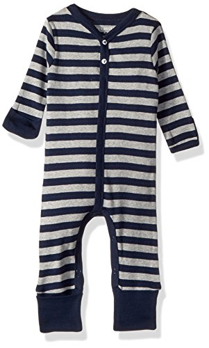 - Burt's Bees Baby Baby Boys' Romper Jumpsuit, 100% Organic Cotton One-Piece Coverall