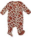 Fleece Footed Sleeper Giraffe