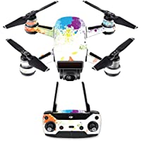 Skin for DJI Spark Mini Drone Combo - Splash Of Color| MightySkins Protective, Durable, and Unique Vinyl Decal wrap cover | Easy To Apply, Remove, and Change Styles | Made in the USA
