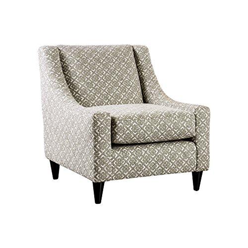Loveseat Hampton - HOMES: Inside + Out IDF-8564-CH-SQ Hampton Arm Chair, Light Gray