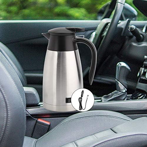 nobrand Unibell 1000ml 12V 24V Universal Car bollitore Elettrico riscaldatore Kettle Pot Portable riscaldatore di Acqua