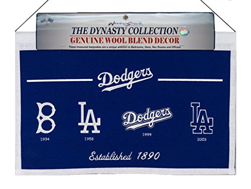 Los Angeles Dodgers Felt - 8