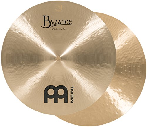 - Meinl Cymbals B14MH Byzance 14-Inch Traditional Medium Hi-Hat Cymbal Pair (VIDEO)