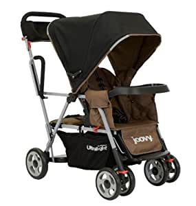 Joovy Caboose Ultralight Stroller, Brownie (Discontinued by Manufacturer)