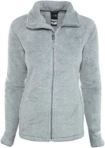 The North Face Women's Osito 2 Jacket High-Rise Grey/Tnf White Stripe Outerwear