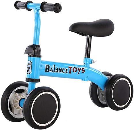 K-G Bicicleta Infantil Balance De La Bici del Bebé Walker Paseo En Juguetes For 1-4 Años De Edad Niños Niñas Bebé Caminando Bicicleta Primera Bicicleta: Amazon.es: Deportes y aire libre
