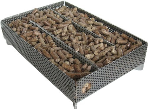 A-Maze-n Pellet Smoker 5x8 with Free CookinPellets Perfect Mix Smoking Pellets, 1lb by A-Maze-n Products
