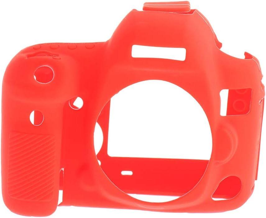 B Baosity Fundas Caja Protectora a Prueba de Polvo Silicona Suave para Canon EOS 5D4 5D Mark IV