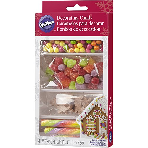 Gingerbread Decorating Candy Set,5oz (Gingerbread Candy)