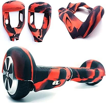 Cubierta Protectora de Silicona funda para 6,5 pulgadas Hoverboard Scooter Auto Equilibrio