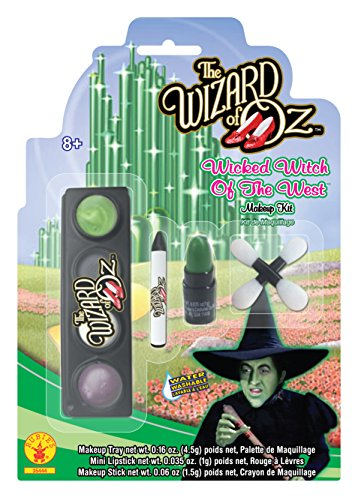 Rubies Wizard of Oz 75th Anniversary Wicked Witch of The West Make-Up (Wizard Of Oz Wicked Witch Child Costume)
